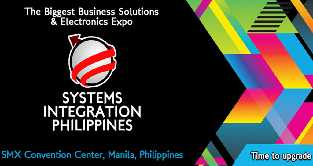 SIP 2016, Systems Integration Philippines 2016, technological innovation, CommWorld, Educa Expo, TOPS show, trade show, Corporate Gifts Expo, PALMM Philippines, Signs and Media