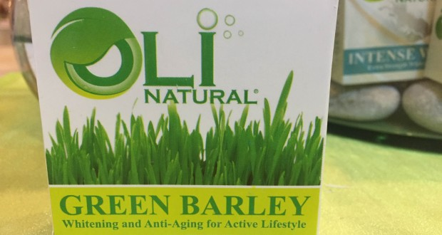 Oli Natural Green Barley