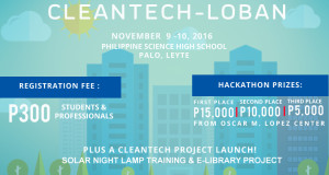 'Hack The Climate' Pushing for Clean Technology in Leyte