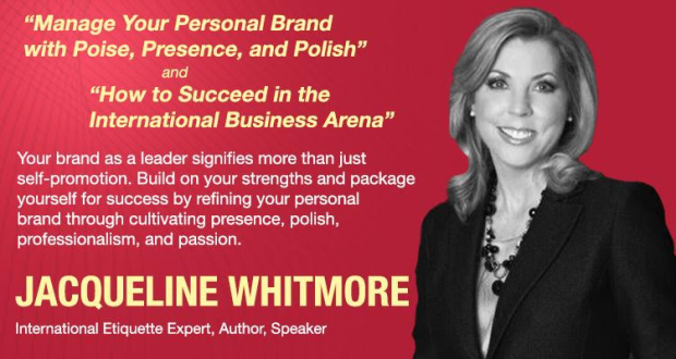 Jacqueline Whitmore for the 16th ALS: The Know-Hows of Leadership Branding