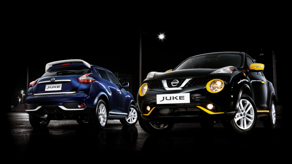 Nissan Juke N-Style Cosmic Blue and Obsidian Black (c) Nissan Philippines Inc.