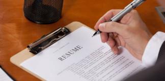how to write resume