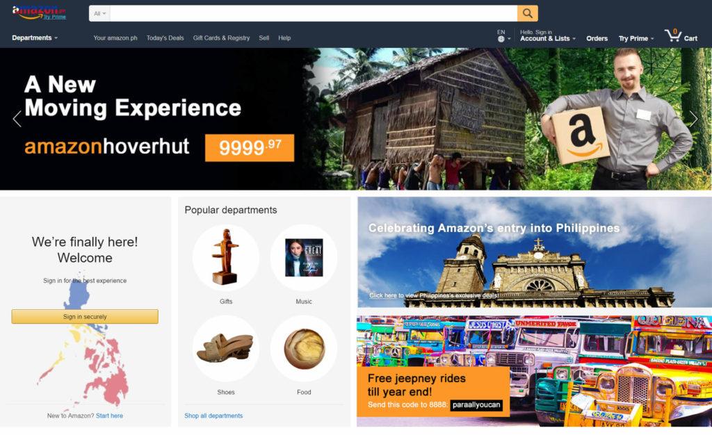 amazon philippines site
