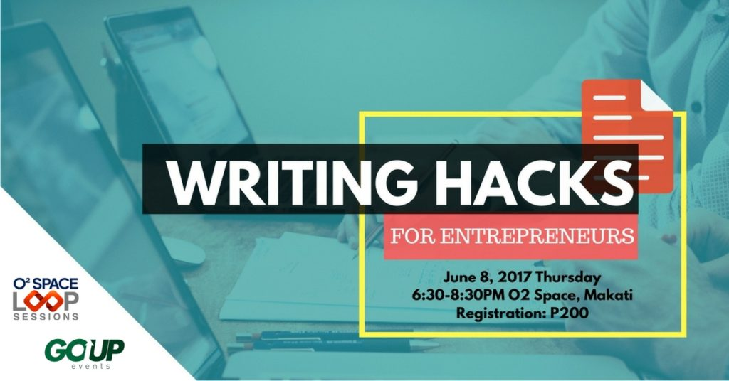 writing-workshops, writing-hacks, go-up-events, writing-workshops-in-manila