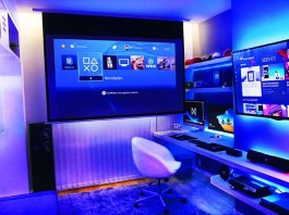 Ultimate Gaming Home gaming room