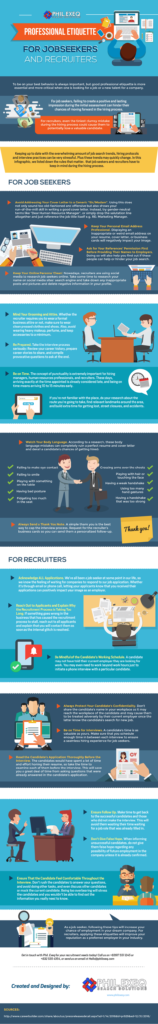 Professional Etiquette for Jobseekers and Recruiters-01