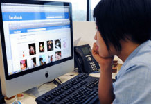 Facebook at office