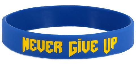 never-give-up-wristband
