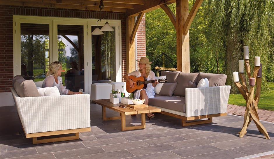 Outdoor Patio. Brian Setter, Negosentro | The Look And Appearance And  Appeal Of A Patio Depend On A Few Factors. One Of Them Is The Pavement, ...