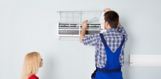 Air Conditioning Machine Installation - Negosentro