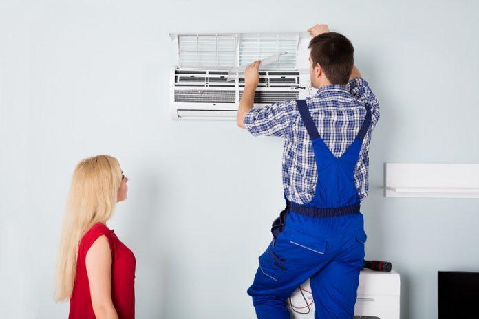 Air Conditioning Machine Installation - Negosentro
