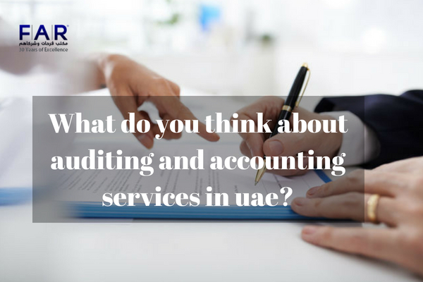 auditing and accounting services in UAE
