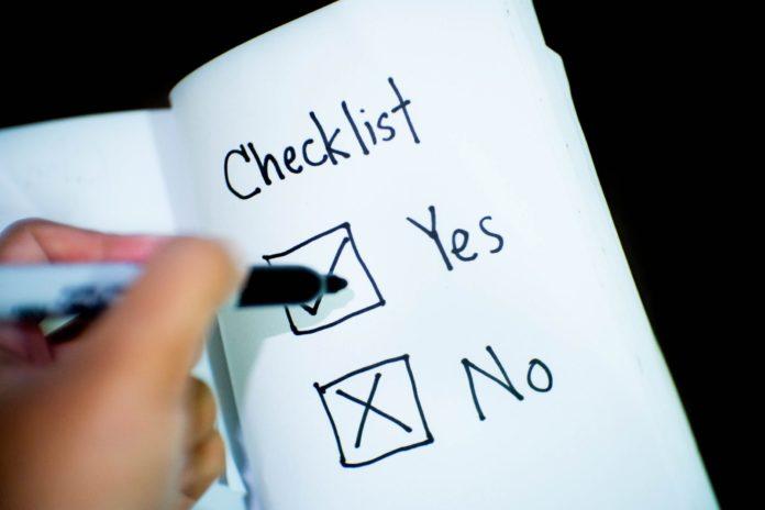 Checklist for Budding Entrepreneurs