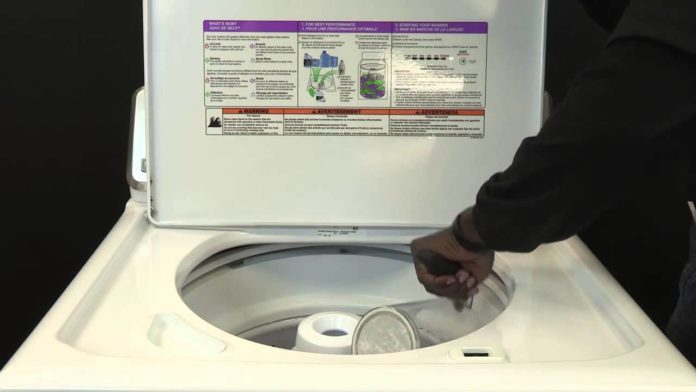 winterize a washing machine