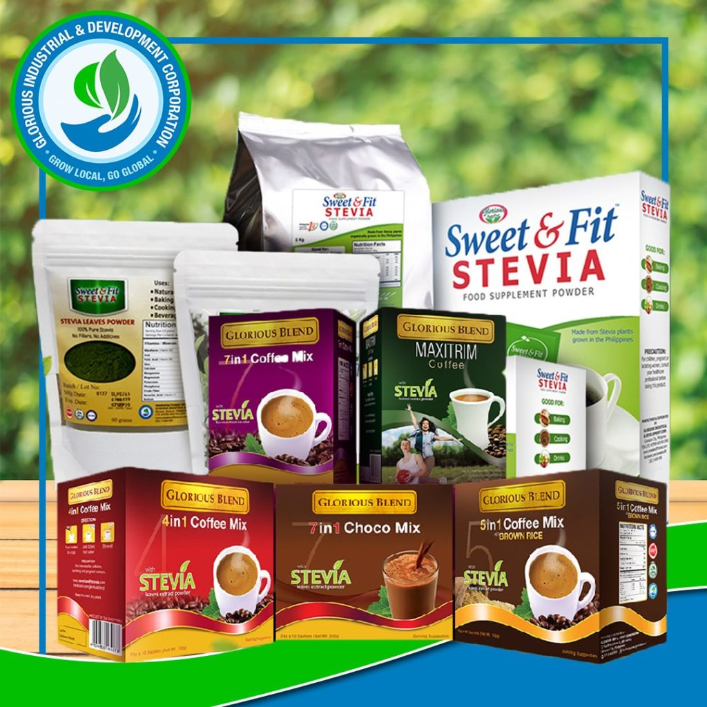 Sweet and Fit Stevia Products