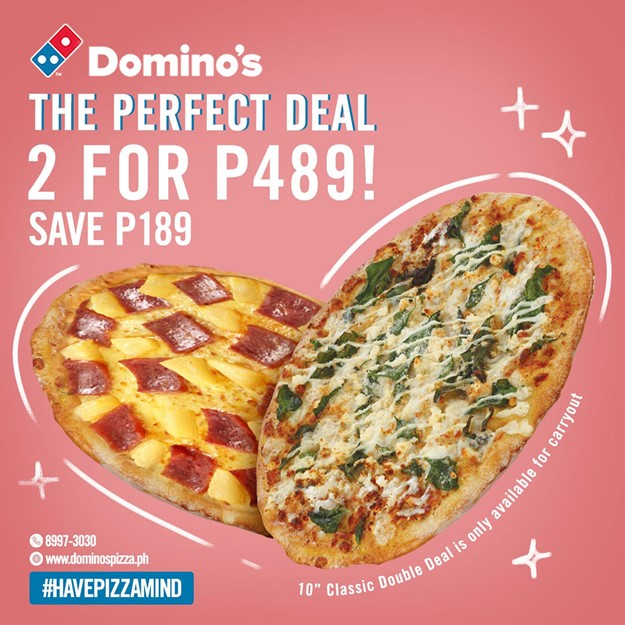 double deal pizza ph 2021 dominos