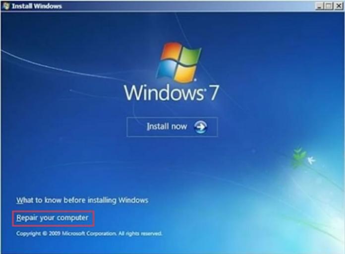 Fixed Windows 7