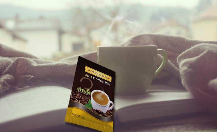 Glorious Blend 3 in 1 Coffee - Power-packed Natural Sweetness with Stevia
