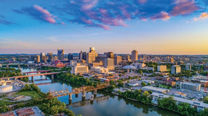 Nashville Tennessee TN Skyline