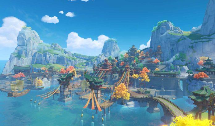 Genshin Impact's Liyue Harbor