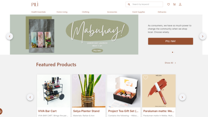 Pili Lokal – Philippines First Class Marketplace