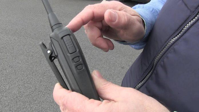 Motorola Digital 2W VHF/UHF Radio
