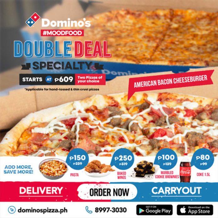 Domino's Pizza Double Deal - Negosentro