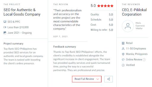 pililokal review top rank seo